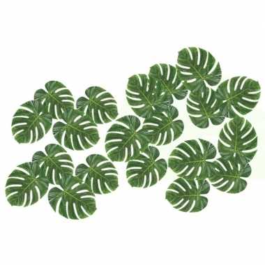 20x versiering tropische bladeren