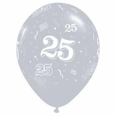 25 jaar versiering ballonnen qualatex