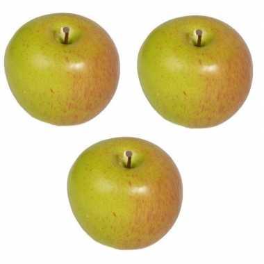 3 versiering appels 8 cm