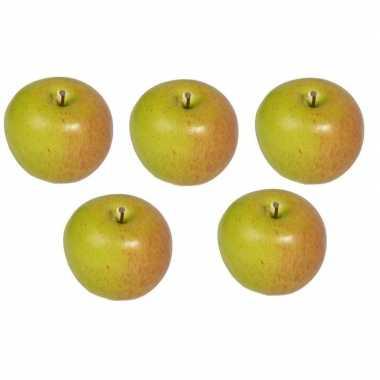 5 versiering appels 8 cm