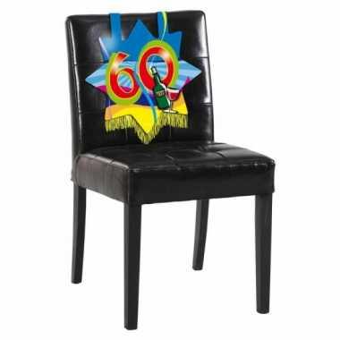 60e verjaardag stoel versiering