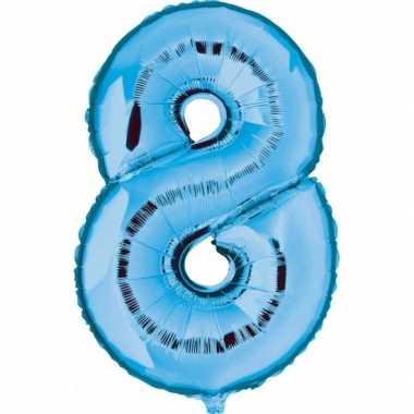 8 jaar versiering cijfer ballon