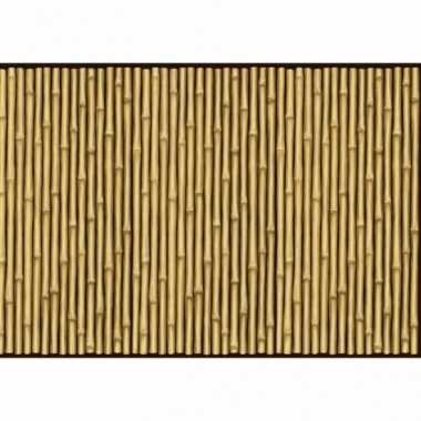 Bamboe print versiering papier