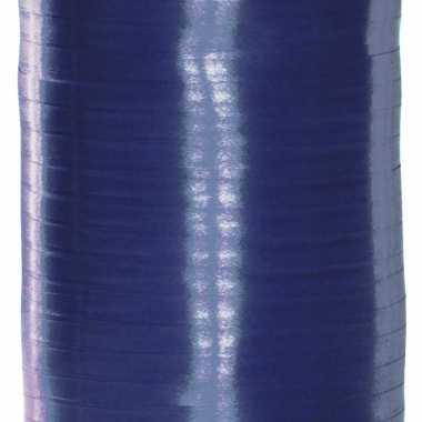 Blauw versiering lint