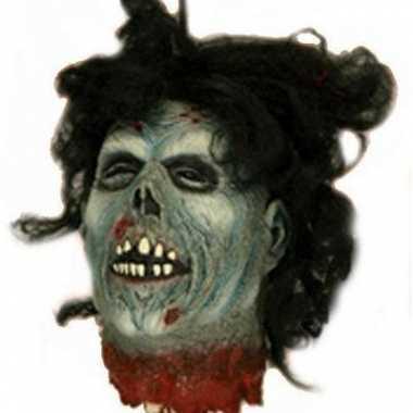 Bloederige zombie versiering