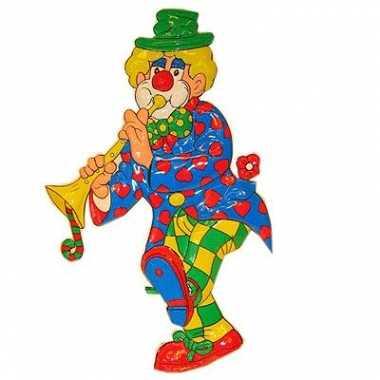 Carnaval versiering clown