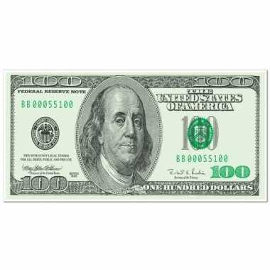 Casino versiering banner dollar