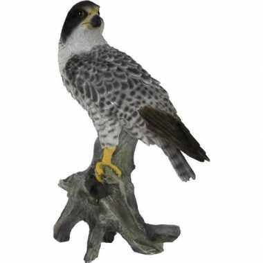 Dierenbeeld slechtvalk vogel 25 cm woonversiering