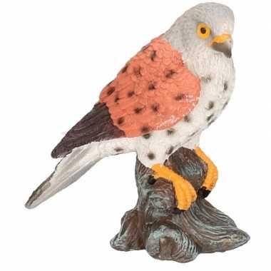 Dierenbeeld torenvalk vogel 11 cm woonversiering