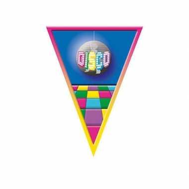 Disco versiering vlaggenlijn 5 mtr