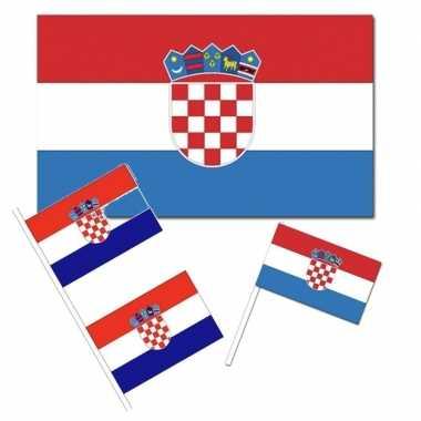 Feestartikelen kroati? versiering pakket
