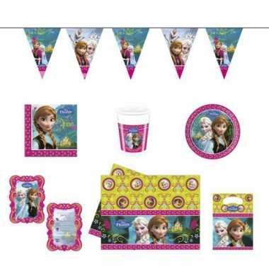 Frozen kinderfeestje versieringspakket