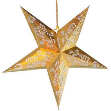 Gouden versiering ster 60 cm