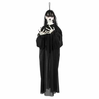 Halloween halloween versiering horror meisje pop 85 cm