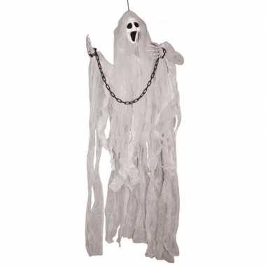 Halloween halloween versiering spook pop met licht 120 cm
