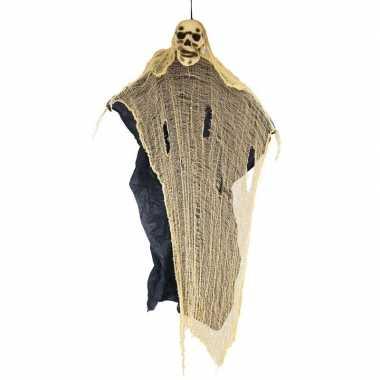 Halloween halloween versiering spook/skelet pop 188 cm