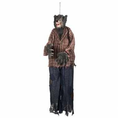 Halloween halloween versiering weerwolf pop 150 cm