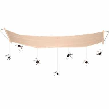 Halloween hangversiering halloween spinnen aan hangmat 310 cm
