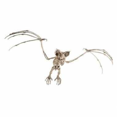 Halloween vleermuis skelet halloween/horror versiering 72 cm