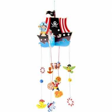 Hangversiering mobiel piratenschip 85 cm
