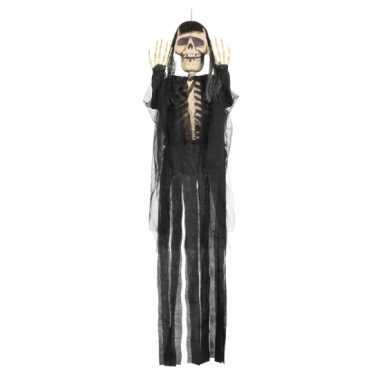 Hangversiering skelet de dood 150 cm
