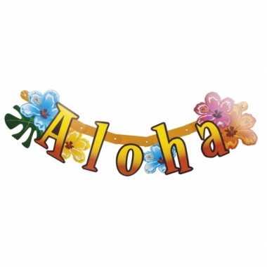 Hawaii thema versiering aloha