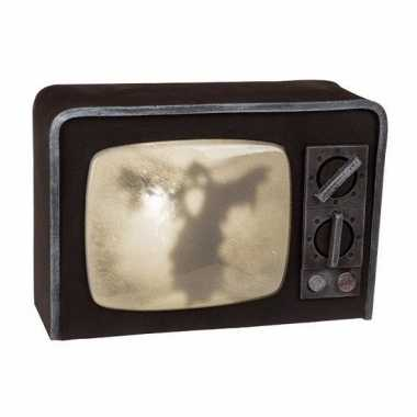Horror tv versiering met licht en geluid