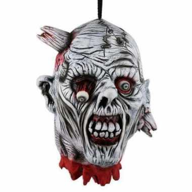 Horror versiering hoofd 30 cm
