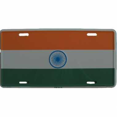India versiering bordje