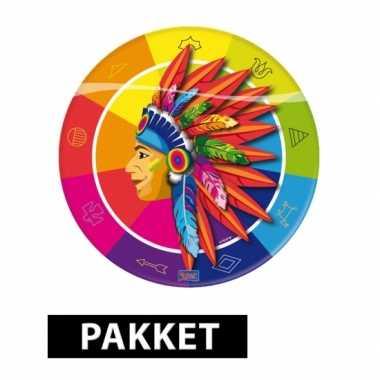 Indianen thema versiering pakket