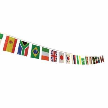 Internationale versiering vlaglijn