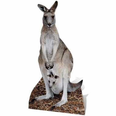 Kangoeroe versiering bord