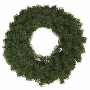 Kerst versiering krans 30 cm