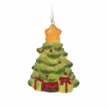 Kerstboom versiering kerstboom hanger 5 cm