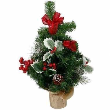 Kunst kerstboom met versiering kerst versiering 50 cm