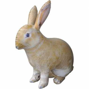 Opblaasbaar konijn/haas 75 cm versiering/speelgoed