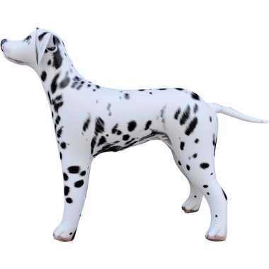 Opblaasbare dalmatier hond 75 cm versiering/speelgoed