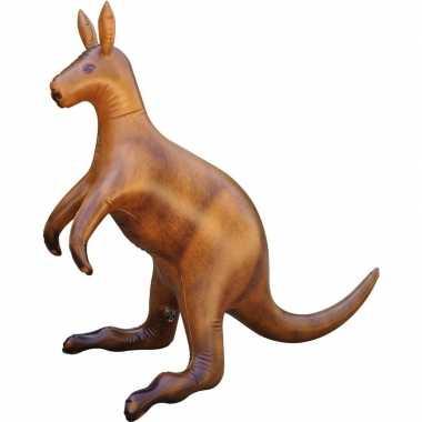 Opblaasbare kangoeroe 75 cm versiering/speelgoed
