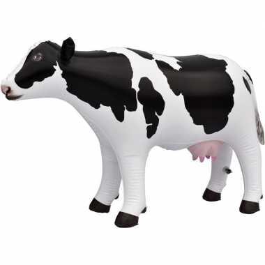Opblaasbare koe 53 cm versiering speelgoed