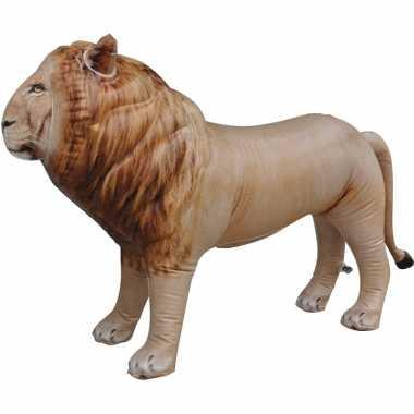 Opblaasbare leeuw 60 cm versiering/speelgoed