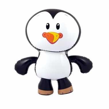 Opblaasbare pinguin 56 cm versiering/speelgoed