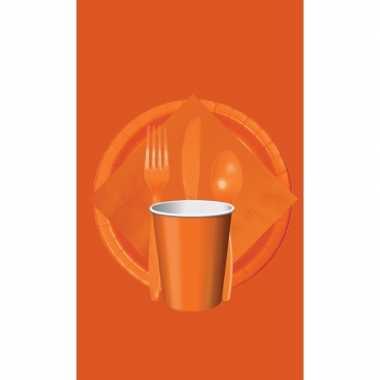 Oranje tafelversiering pakket