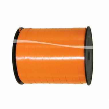 Oranje versiering lint