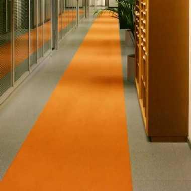 Oranje versiering loper 1 meter breed