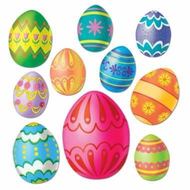 Paas versiering eieren voor aan de muur