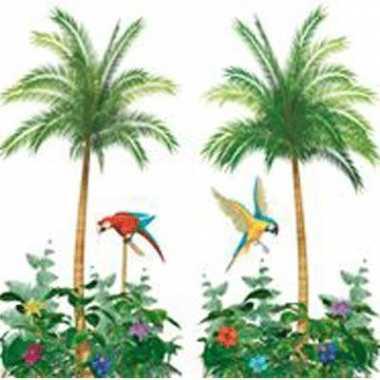 Palmbomen wandversiering 180 cm