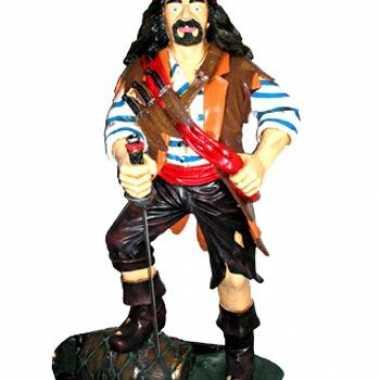 Piraten versiering op ton 180 cm