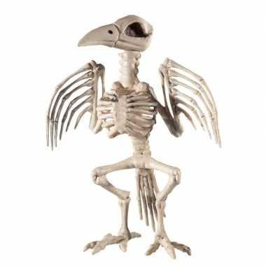 Skelet Voor Halloween.Raaf Skelet Halloween Horror Versiering 30 Cm