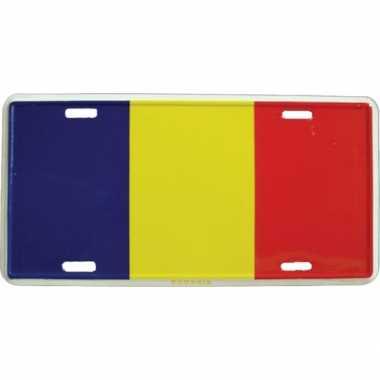 Roemenie versiering bordje