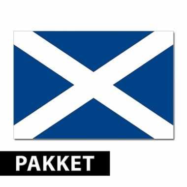 Schotse thema versiering set